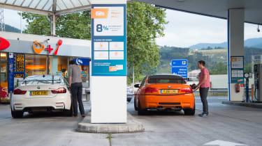 BMW M3 & M4 GTS - fuel