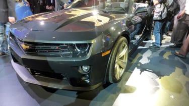 2011 Los Angeles motor show: Chevrolet Camaro ZL1 roadster