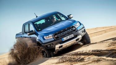 Ford Ranger Raptor - front