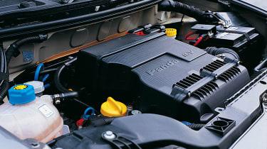 Fiat Panda 100HP engine