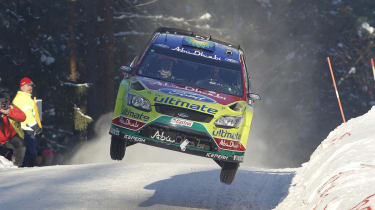WRC Ford Focus RS Sweden