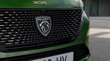 2021 Peugeot 308 - badge
