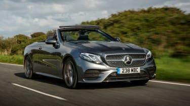 Mercedes-Benz E-class cabriolet front