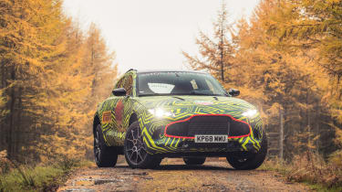 Aston Martin DBX prototype - front quarter