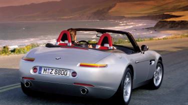 BMW Z8 – rear quarter