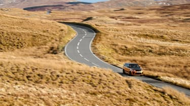 Range Rover Sport SVR scenic