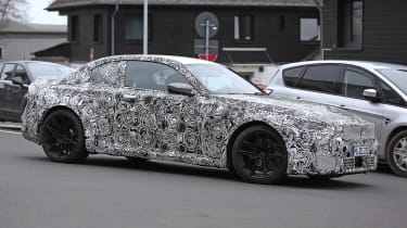 2022 BMW M2 spied road side