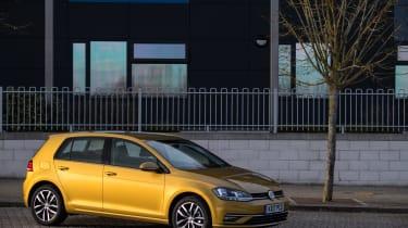 Volkswagen Golf front three quarter static
