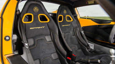 Lotus Elise Sprint 220 - Seats