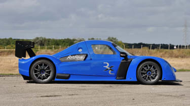 Radical RXC blue side profile