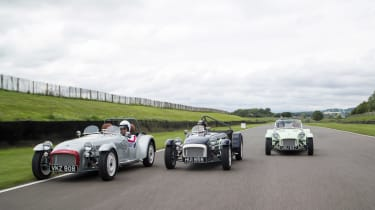 Caterham Seven SuperSprint group