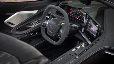 Chevrolet Corvette C8 Cab EU review – interior