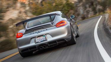 Sharkwerks Porsche Cayman GT4 review - rear