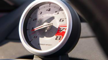 Renault Sport Twingo 133 – tachometer