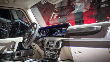 Mercedes G-Class show - interior