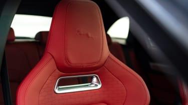 Jaguar F Pace 2021 review - P400 seat
