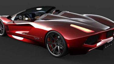 Dagger GT 300mph, 2500bhp