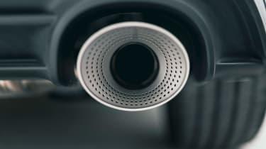 Volkswagen Golf GTI Clubsport 45 – exhaust pipe