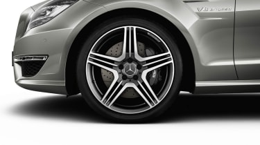 Mercedes CLS 63 AMG wheel