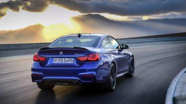BMW M4 CS - rear cornering