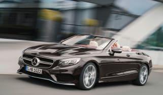 Mercedes-Benz S560 Cabriolet front