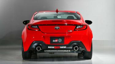 2022 Toyota GR86 - rear