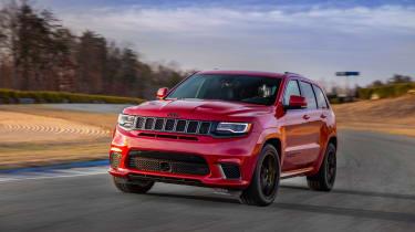 Jeep Grand Cherokee Trackhawk - track1