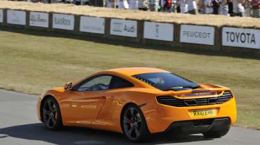 New McLaren MP4-12C supercar