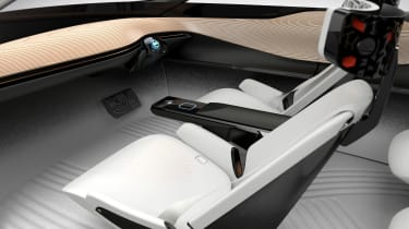 Nissan iMx Concept - front interior