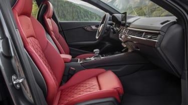 Audi S4 TDI review -  Avant seats