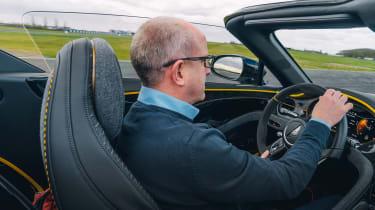 Bentley Bacalar dev - interior driving
