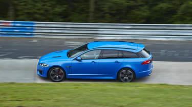 Jaguar XFR-S Sportbrake side profile