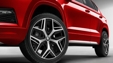 SEAT Ateca FR wheels