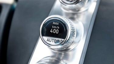 Bugatti Chiron '42' record breaker - button