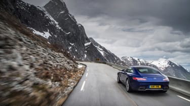 Mercedes-AMG GT S Norway rear