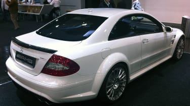 Mercedes CLK63 AMG Black Series