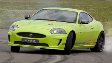 Jaguar XKR at Goodwood