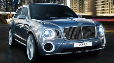 Bentley EXP9F SUV concept