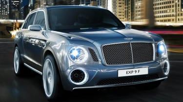 Bentley EXP9F SUV concept