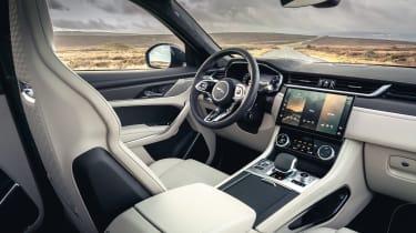 Jaguar F Pace SVR 2021 review - interior