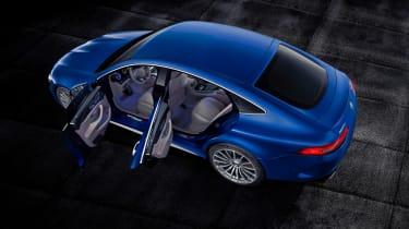 Mercedes-AMG GT 63 S - doors open
