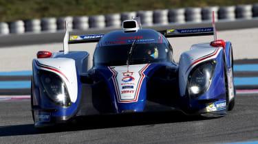 2013 Toyota TS030 Hybrid Le Mans car