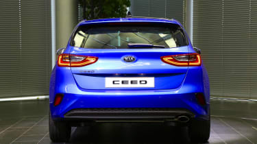Kia Ceed launch images - rear