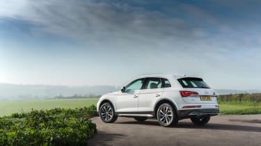 Audi Q5 2021 – rear quarter static