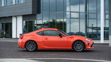 Toyota GT86 Orange Edition side