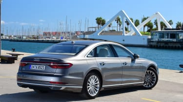 Audi A8 - rear quarter static