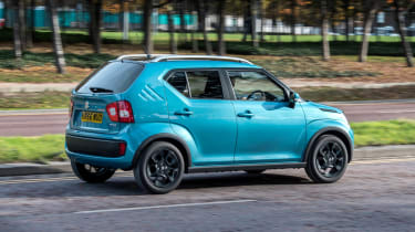 Suzuki Ignis rear three quarters