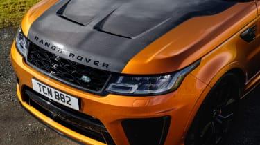 Range Rover Sport SVR bonnet