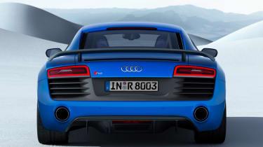 Audi R8 LMX rear view