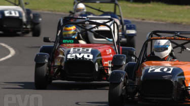 race on track